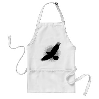 Raven in Flight Aprons