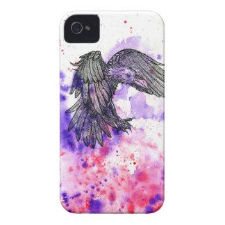 Raven In Flight iPhone 4 Cases