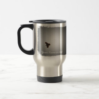 Raven in Flight Travel Mug