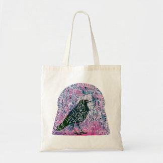 Raven in the Runestone Tote Bag