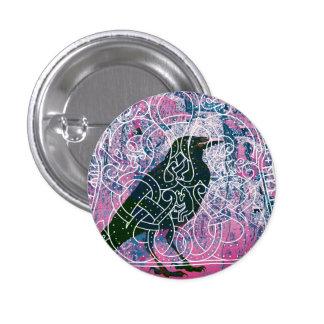 Raven in the Runestone Button