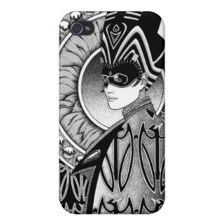 Raven iPhone 4 Savvy Matte Finish Case Cover For iPhone 4
