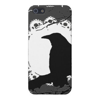 Raven Lace B & W iPhone SE/5/5s Cover