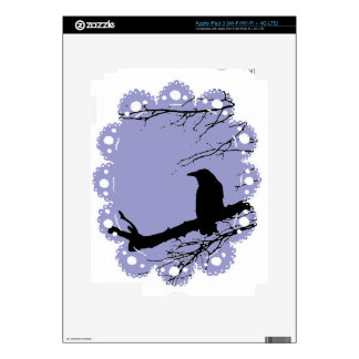 Raven & Lace by Alexandra Cook Skin For iPad 3