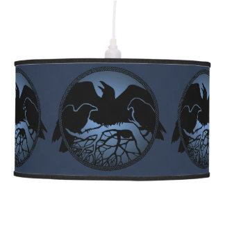 Raven Lamp Black Crow / Raven Art Lamps & Decor