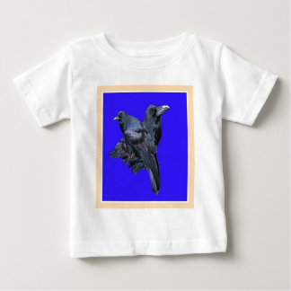 Raven Lovers Purple Gifts by Sharles Baby T-Shirt