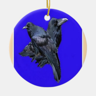 Raven Lovers Purple Gifts by Sharles Christmas Ornament