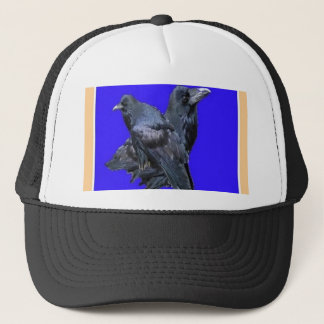 Raven Lovers Purple Gifts by Sharles Trucker Hat