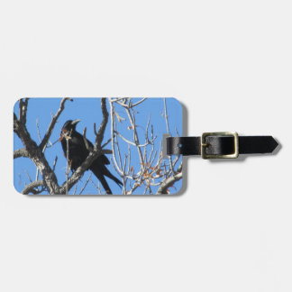 Raven Luggage Tags