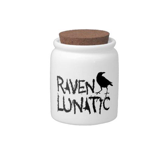 Raven Lunatic Black Crow Candy Jars