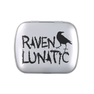 Raven Lunatic Black Crow Candy Tin