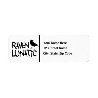 Raven Lunatic Black Crow Label