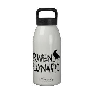 Raven Lunatic Black Crow Reusable Water Bottle