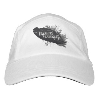 Raven Lunatic Fun Quote for Raven Bird Lovers Hat