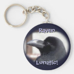 Raven Lunatic! Keychain
