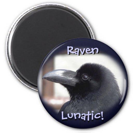 Raven Lunatic! Magnet
