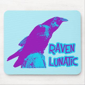 Raven Lunatic Mouse Pad