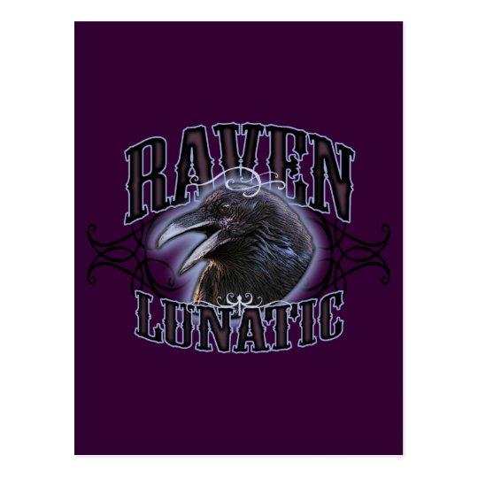 Raven Lunatic Postcard
