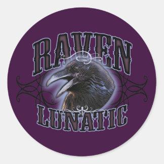 Raven Lunatic Stickers