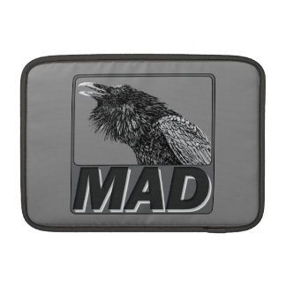 Raven Mad Macbook Sleeve