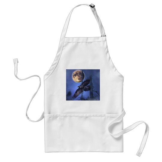 RAVEN MAGICK  Gifts Adult Apron