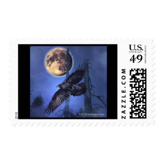 RAVEN MAGICK  Gifts Postage Stamp