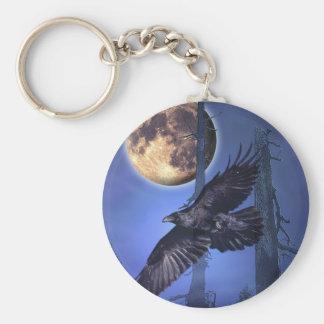 RAVEN  MAGICK  Gothic Keychain