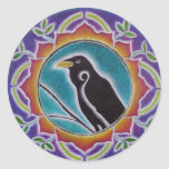 Raven Mandala Sticker