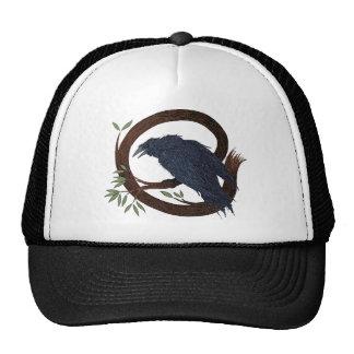 raven mesh hats