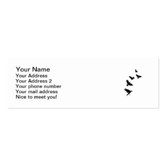Raven Mini Business Card