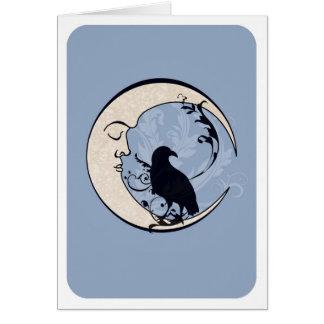 Raven Moon Card