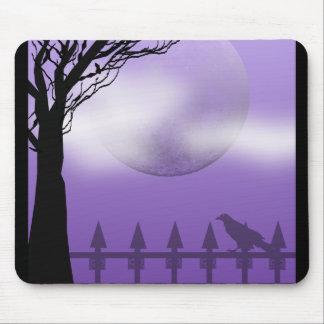 raven moon mouse pad