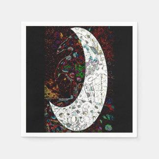 Raven Moon Napkin