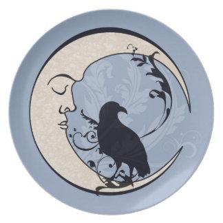 Raven Moon Plate
