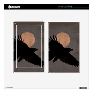 RAVEN MOON SKINS FOR KINDLE FIRE