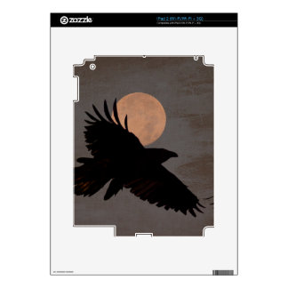 RAVEN MOON DECALS FOR THE iPad 2
