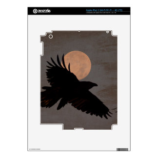 RAVEN MOON iPad 3 SKINS