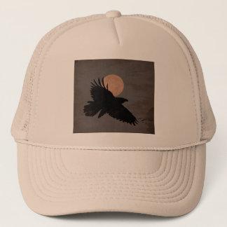 RAVEN MOON TRUCKER HAT