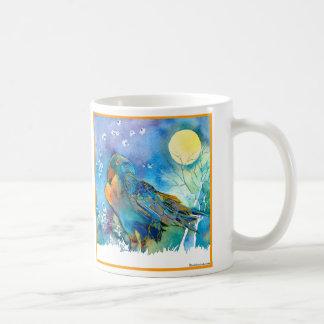 Raven Classic White Coffee Mug