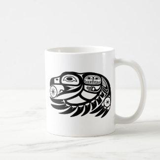 Raven Native American Design Coffee Mug