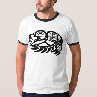 Raven Native American Design T-Shirt
