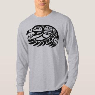 Raven Native American Design Tee Shirt