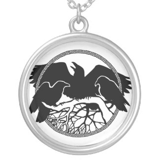 Raven Necklace Raven Gift Raven Crow Art Jewelry