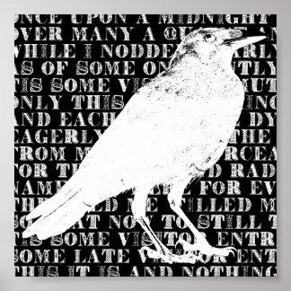 Raven never more print