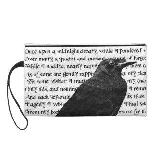Raven Never More Wristlet Purse