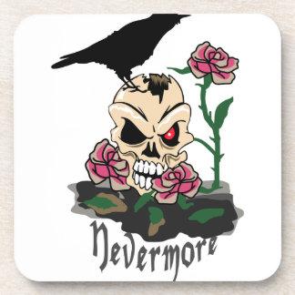 Raven Nevermore Beverage Coaster