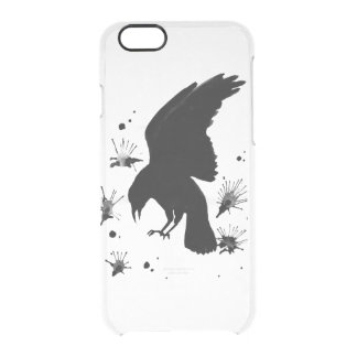 Raven nevermore clear iPhone 6/6S case