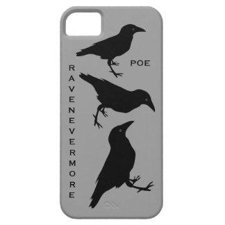 Raven Nevermore Edgar Allen Poe Black Birds iPhone 5 Covers