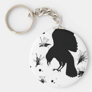 Raven Nevermore Key Chain