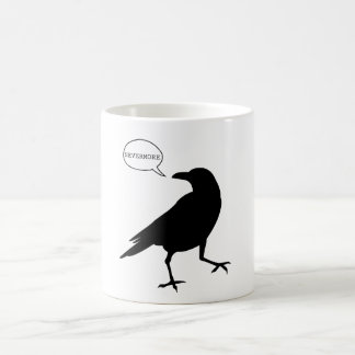 Raven Nevermore Classic White Coffee Mug